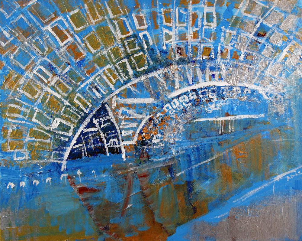 2012-114 Blue and Gold, L'Enfant Plaza Metro Station, Washington, D.C.