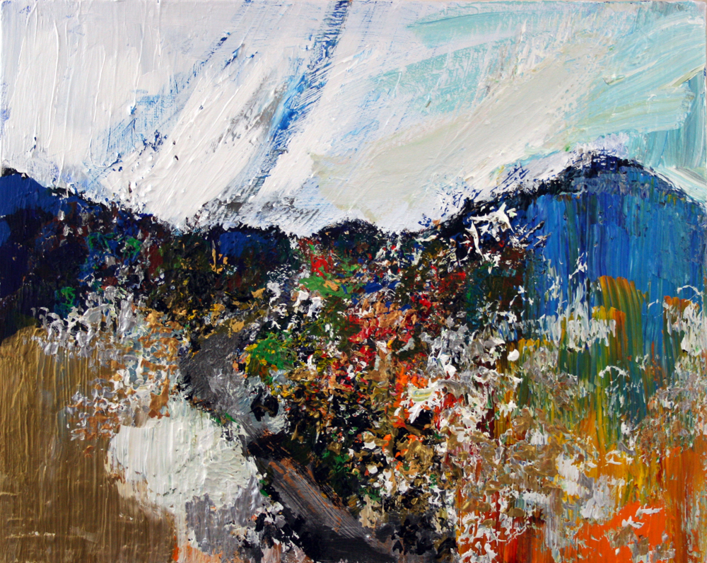 2011-162 Srebrenica, Painting by Alyse Radenovic