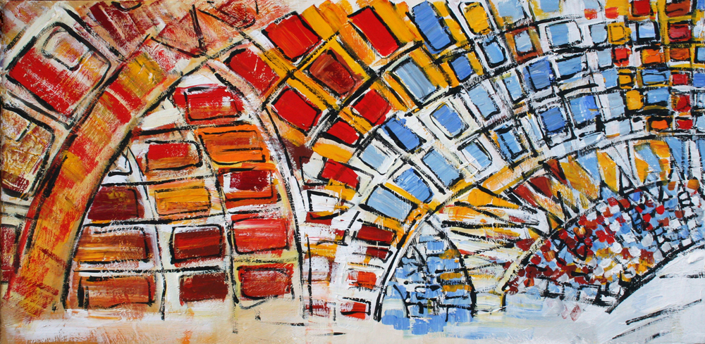 SW D.C. L'Enfant Plaza Mural - Center Panel Alyse Radenovic