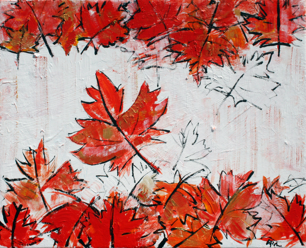 2016-71 Canadian Flag by Alyse Radenovic